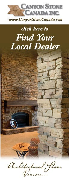 Find your local dealer for interior stone fireplace